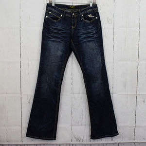 Rocawear Size 7 Boot Cut Jeans 653